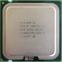 Processor Core 2 Duo E6600 2.4 Ghz (Running Test On+garansi)