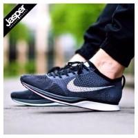 Nike Flyknit Racer - Black Grey