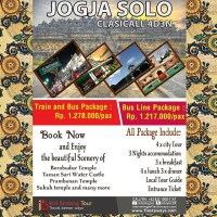 Jogja Solo Tour 4d3n travel Voucher