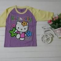 Kaos anak perempuan/baju murah/branded/lokal/impor