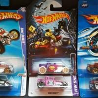 Hot Wheels Bone Shaker Sets of 6