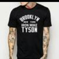 T-SHIRT BROOKLYN NEW YORK IRON MIKE TYSON(ONLY SIZE S,M,L,XL) TEES004