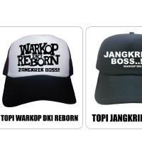 TOPI WARKOP DKI REBORN & JANGKRIK BOS TRUCKER