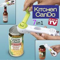 Jual Kitchen Can Do Can Opener 7 in 1 Pembuka Kaleng botol Murah