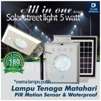 harga Lampu PJU 5 Watt 50 LED tenaga matahari solar surya Panel Cell Darurat Tokopedia.com