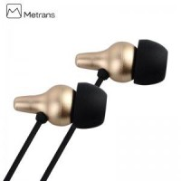 METRANS Enjoy Series 1.2M Stereo Earphone for Smartphone/ MP3/ PC, etc