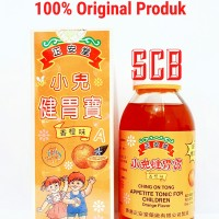 Ching On Tong Appetite Tonic For Children - Obat Nafsu Makan Anak