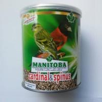 harga TERBAIK! Pakan Burung Finch Manitoba Cardinal & Spinus Blackthroat Tokopedia.com