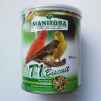 harga Manitoba Kenari T1 Biscuit Pakan Kenari Juara Dunia Prestige Canaries Tokopedia.com
