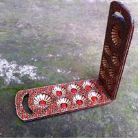 Jual Mainan Dakon Congklak Kayu Batik Model Tas Jinjing Murah