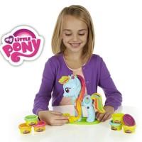 Play doh my little pony mainan lilin anak import pony lilin
