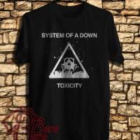 Kaos Distro, Kaos Oblong, Kaos Logo - Kaos SOAD Toxicity logo