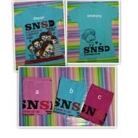 Jual Kaos Karakter Korea SNSD Murah