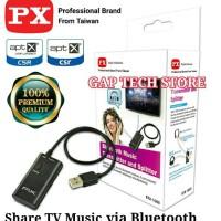PX BTX 1000 - Bluetooth Music Transmitter and Splitter