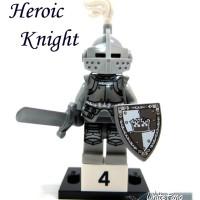 lego Mini figure series 9 heroic knight