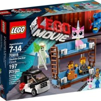 LEGO The Lego Movie # 70818 Double-Decker Couch Emmet Sofa Cup Holder