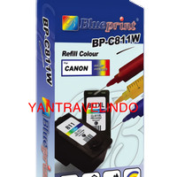 TINTA SUNTIK PRINTER CANON INKJET COLOUR  CYAN MAGENRA  YEL ANTI MACET