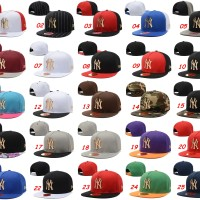 harga Topi Snapback New Era 9fifty MLB NY Yankees Logo Metal Gold - Import Tokopedia.com