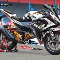 Honda New CBR150R White - Anime Kirito (Semi Fullbody)