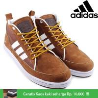 Sepatu Pria Kets Casual Adidas Neo High City Grade Original Murah #2