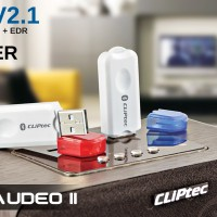 Cliptec BLUEAUDEO II USB Card Speaker Bluetooth Music Receiver BMR223