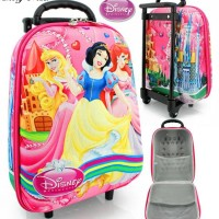 Tas Trolley Anak Mini Princes 3d