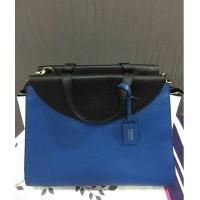 kate spade authentic medium saturday a satchel three tone blue bag