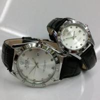 Jamtangan ROLEX COUPLE jam tangan pria wanita pasangan sepasang ta