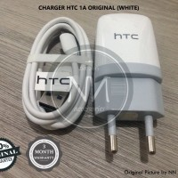 CHARGER HTC DESIRE 300 816 ONE M7 M8 MINI MAX X S J 1A WHITE ORIGINAL