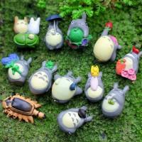 miniature totoro dekorasi terrarium mini garden