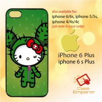 hello kitty face siluet Casing HP hardcase for iphone series