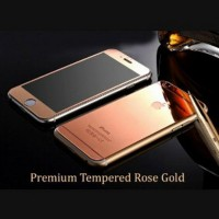 iPhone 4 4s Tempered Glass Rose Gold anti gores screen guard protector