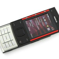 Original Nokia X3 ponsel selular (New), Bluetooth 3.2MP MP3 player