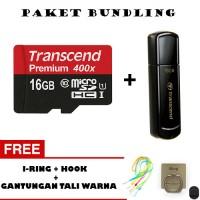 harga PAKET BUNDLING TRANSCEND! Micro SD 16GB + Flashdisk 16GB FREE BONUS Tokopedia.com