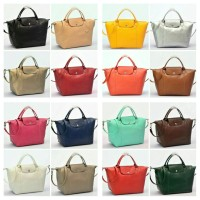 Tas Longchamp Le Pliage Cuir MEDIUM Tote P502992