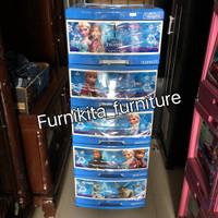 harga lemari plastik serbaguna frozen 5 susun Tokopedia.com