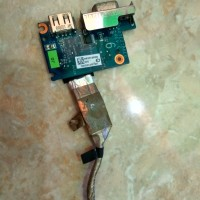 Mainboard USB & VGA laptop toshiba L645