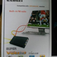harga TV TUNER ANALOG PLUS RADIO FM GADMEI KONVERTER RCA TO VGA Tokopedia.com