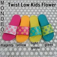 Sandal Monobo - Twist Low Kids Flower