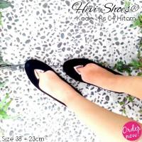 harga Sepatu Flat Shoes Murah Rs - 04 Hitam Tokopedia.com