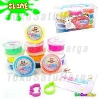 harga Mainan Anak Slime Korea Isi 12 / Set Gel Warna Warni Tidak Lengket Tokopedia.com