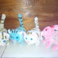 mainan hewan nyala lampu dan suara free battery