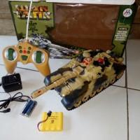 RC WAR TANK, Mainan Remot Control Tank seperti Sungguhan