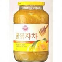 Korean Honey Citron Tea Teh Jeruk Madu Asli Korea Jam Sehat 1kg