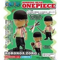 ORIGINAL One Piece Bobble Head Zoro Bandana Ver