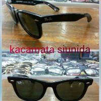 harga kacamata rayban wayfarer miring 2140 hitam glossy Tokopedia.com