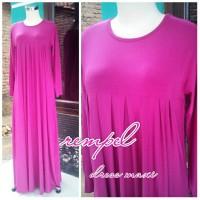 harga Suplier Baju Busana Gamis Dress Maxi Muslim Polos Rempel Murah Tokopedia.com