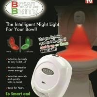 Bowl Brite Lampu Toilet WC /Jamban Pintar sensor LED otomatis TERMURAH