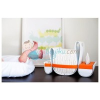 Boon Diaper Caddy Loop Color Orange White