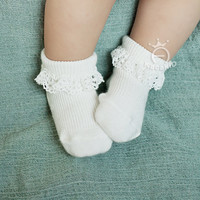 kaos kaki bayi motif vertikal - ACG131